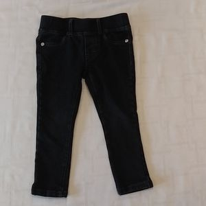Guess Black Jeggings Size 2T